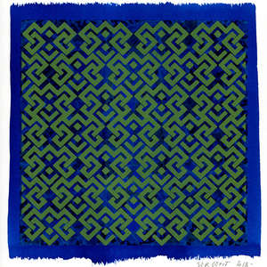 Image 132 - Small Paper-Shakti-Yoni-2018-White-BFK-Rives, JP Sergent