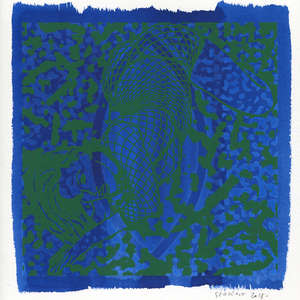 Image 247 - Small Paper-Shakti-Yoni-2018-White-BFK-Rives, JP Sergent