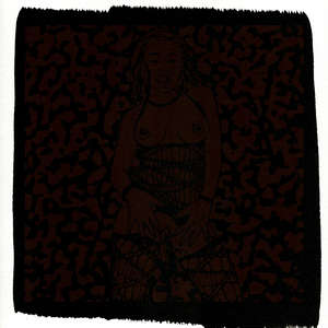 Image 94 - Small Paper-Shakti-Yoni-2018-White-BFK-Rives, JP Sergent