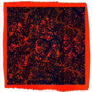 Image 55 - Small Paper-Shakti-Yoni-2018-White-BFK-Rives, JP Sergent