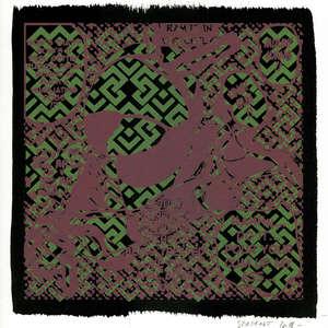 Image 49 - Small Paper-Shakti-Yoni-2018-White-BFK-Rives, JP Sergent