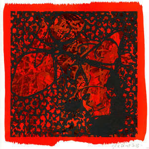 Image 38 - Small Paper-Shakti-Yoni-2018-White-BFK-Rives, JP Sergent