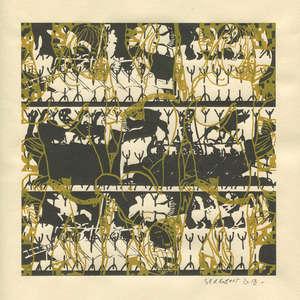 Image 375 - Small Paper-Shakti-Yoni-2018 |Yellow Wang Paper, JP Sergent