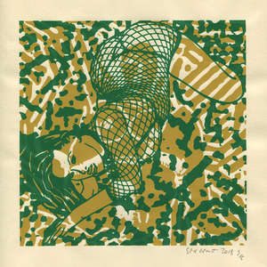 Image 385 - Small Paper-Shakti-Yoni-2018 |Yellow Wang Paper, JP Sergent