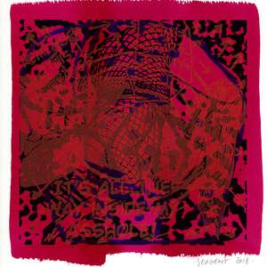 Image 17 - Small Paper-Shakti-Yoni-2018-White-BFK-Rives, JP Sergent