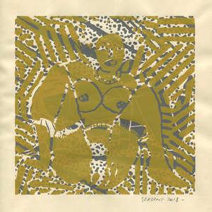 Image 342 - Small Paper-Shakti-Yoni-2018 |Yellow Wang Paper, JP Sergent
