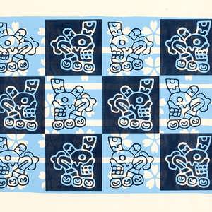 Image 1 - Bones, Flowers & Ropes-papier 80g (images), 2016, JP Sergent