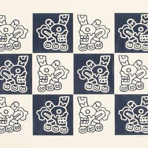 Image 41 - Bones, Flowers & Ropes-papier 80g (images), 2016, JP Sergent