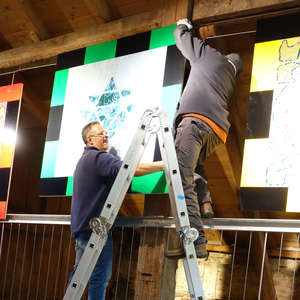 Image 247 - At work Plexiglas, 2015, JP Sergent