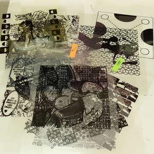 Image 176 - At Work on paper Shakti-Yoni-3-2017, JP Sergent