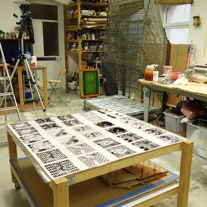 Image 219 - At Work on paper Shakti-Yoni-3-2017, JP Sergent