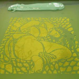 Image 227 - At Work on paper Shakti-Yoni-3-2017, JP Sergent