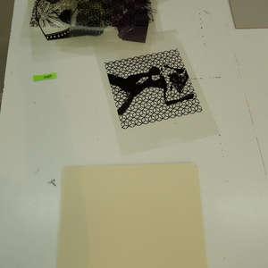 Image 216 - At Work on paper Shakti-Yoni-3-2017, JP Sergent