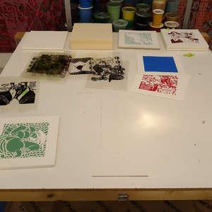 Image 261 - At Work on paper Shakti-Yoni-3-2017, JP Sergent