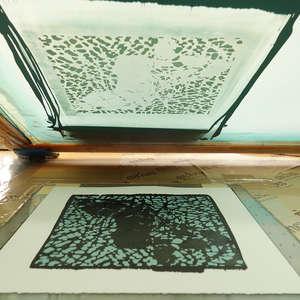 Image 246 - At Work on paper Shakti-Yoni-3-2017, JP Sergent