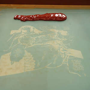 Image 239 - At Work on paper Shakti-Yoni-3-2017, JP Sergent