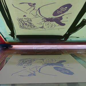 Image 143 - At Work on paper Shakti-Yoni-3-2017, JP Sergent