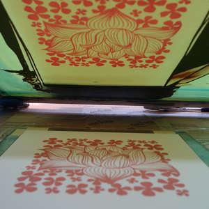 Image 109 - At Work on paper Shakti-Yoni-3-2017, JP Sergent
