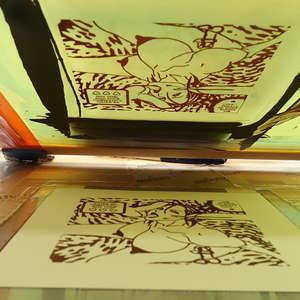 Image 115 - At Work on paper Shakti-Yoni-3-2017, JP Sergent