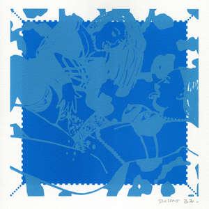 Image 218 - Small-Paper-Shakti-Yoni-2020-White-BFK-Rives, JP Sergent