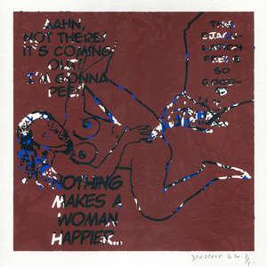 Image 219 - Small-Paper-Shakti-Yoni-2020-White-BFK-Rives, JP Sergent
