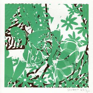 Image 214 - Small-Paper-Shakti-Yoni-2020-White-BFK-Rives, JP Sergent