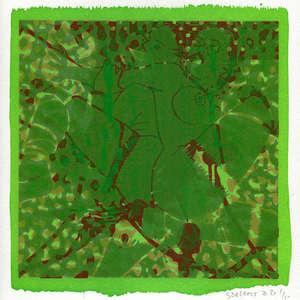 Image 78 - Small-Paper-Shakti-Yoni-2020-White-BFK-Rives, JP Sergent