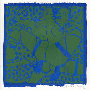 Image 69 - Small-Paper-Shakti-Yoni-2020-White-BFK-Rives, JP Sergent