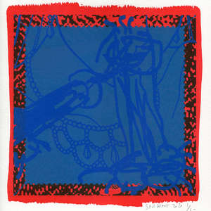 Image 50 - Small-Paper-Shakti-Yoni-2020-White-BFK-Rives, JP Sergent