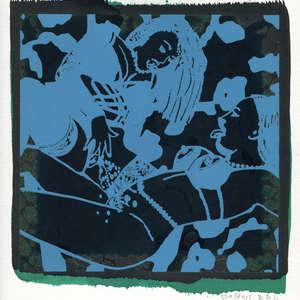 Image 37 - Small-Paper-Shakti-Yoni-2020-White-BFK-Rives, JP Sergent