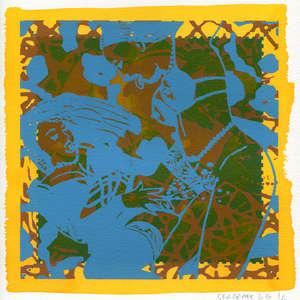 Image 33 - Small-Paper-Shakti-Yoni-2020-White-BFK-Rives, JP Sergent