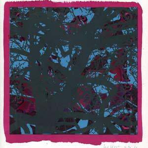 Image 31 - Small-Paper-Shakti-Yoni-2020-White-BFK-Rives, JP Sergent