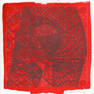 Image 23 - Small-Paper-Shakti-Yoni-2020-White-BFK-Rives, JP Sergent