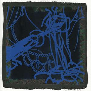 Image 20 - Small-Paper-Shakti-Yoni-2020-White-BFK-Rives, JP Sergent