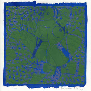 Image 95 - Small-Paper-Shakti-Yoni-2020-White-BFK-Rives, JP Sergent