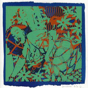 Image 89 - Small-Paper-Shakti-Yoni-2020-White-BFK-Rives, JP Sergent