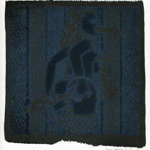 Image 172 - Small-Paper-Shakti-Yoni-2020-White-BFK-Rives, JP Sergent