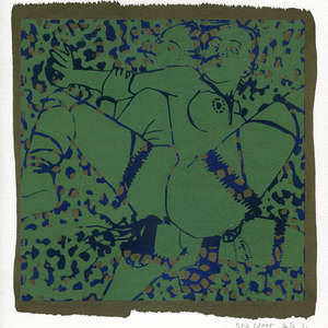 Image 170 - Small-Paper-Shakti-Yoni-2020-White-BFK-Rives, JP Sergent
