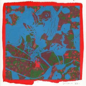 Image 162 - Small-Paper-Shakti-Yoni-2020-White-BFK-Rives, JP Sergent