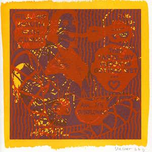 Image 141 - Small-Paper-Shakti-Yoni-2020-White-BFK-Rives, JP Sergent
