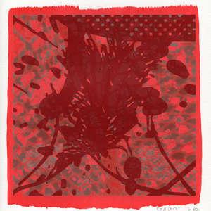 Image 118 - Small-Paper-Shakti-Yoni-2020-White-BFK-Rives, JP Sergent