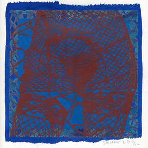Image 113 - Small-Paper-Shakti-Yoni-2020-White-BFK-Rives, JP Sergent
