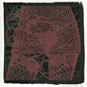 Image 110 - Small-Paper-Shakti-Yoni-2020-White-BFK-Rives, JP Sergent