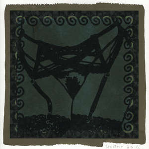 Image 104 - Small-Paper-Shakti-Yoni-2020-White-BFK-Rives, JP Sergent