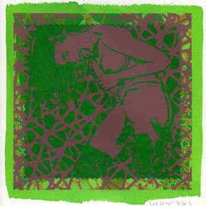 Image 103 - Small-Paper-Shakti-Yoni-2020-White-BFK-Rives, JP Sergent