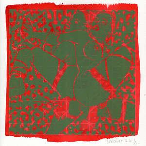 Image 100 - Small-Paper-Shakti-Yoni-2020-White-BFK-Rives, JP Sergent