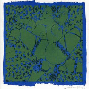 Image 199 - Small-Paper-Shakti-Yoni-2020-White-BFK-Rives, JP Sergent