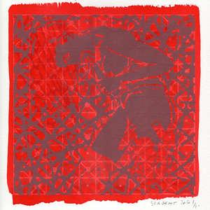Image 191 - Small-Paper-Shakti-Yoni-2020-White-BFK-Rives, JP Sergent