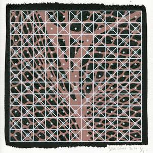 Image 185 - Small-Paper-Shakti-Yoni-2020-White-BFK-Rives, JP Sergent