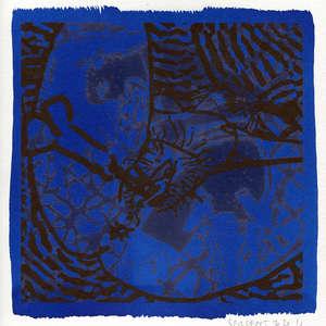 Image 181 - Small-Paper-Shakti-Yoni-2020-White-BFK-Rives, JP Sergent